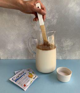 chocolate en mezcla