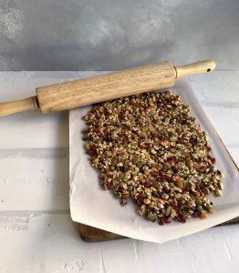 masa cereales estirada con uslero
