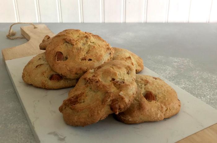 galletas sobre el plato